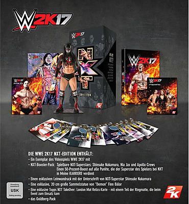 Einfach und sicher online bestellen: WWE 2K17 NXT Limited Edition in Österreich kaufen.