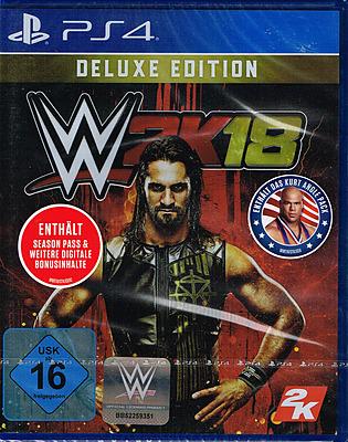 Einfach und sicher online bestellen: WWE 2K18 Deluxe Edition in Österreich kaufen.