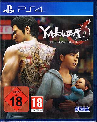 Einfach und sicher online bestellen: Yakuza 6: The Song of Life in Österreich kaufen.