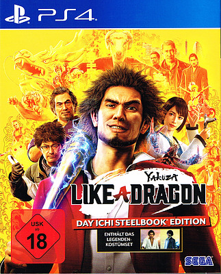 Einfach und sicher online bestellen: Yakuza 7: Like a Dragon Day Ichi Steelbook Edit. in Österreich kaufen.