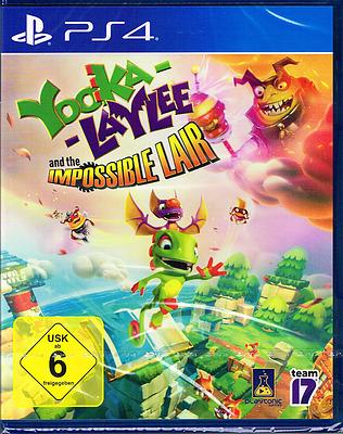 Einfach und sicher online bestellen: Yooka-Laylee and the Impossible Lair in Österreich kaufen.