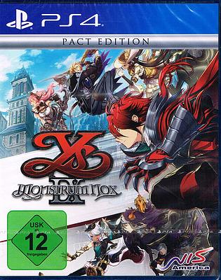 Einfach und sicher online bestellen: Ys IX: Monstrum Nox Pact Edition + 3 Boni in Österreich kaufen.