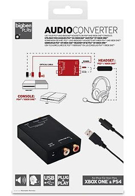 Einfach und sicher online bestellen: Bigben Interactive Audioconverter in Österreich kaufen.