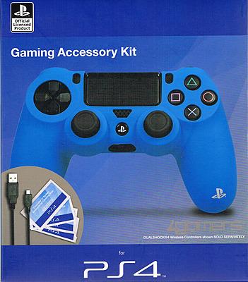 Einfach und sicher online bestellen: Controller AccessoryKit Blau und Rot für Dualshock in Österreich kaufen.