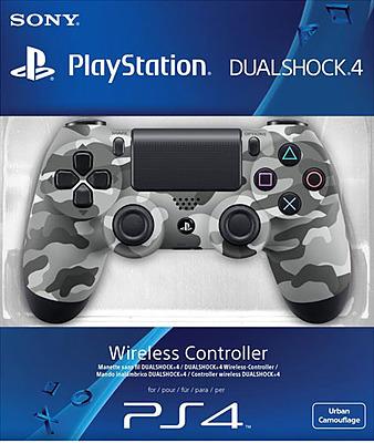 Einfach und sicher online bestellen: Controller DualShock 4 Camouflage Grau/Weiß in Österreich kaufen.