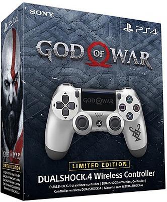 Einfach und sicher online bestellen: Controller DualShock 4 V2 God of War Limited in Österreich kaufen.