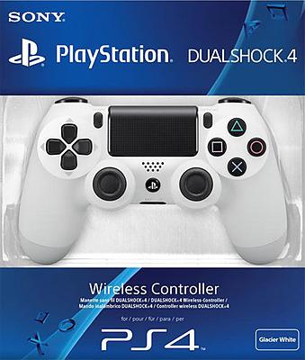 Einfach und sicher online bestellen: Controller DualShock 4 Glacier White V2 (2017) in Österreich kaufen.