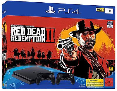 Einfach und sicher online bestellen: PlayStation 4 1TB Slim + Red Dead Redemption 2 in Österreich kaufen.