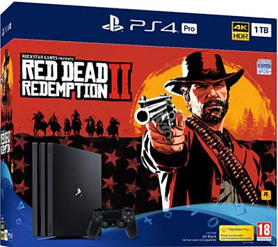Einfach und sicher online bestellen: PlayStation 4 1TB Pro + Red Dead Redemption 2 in Österreich kaufen.