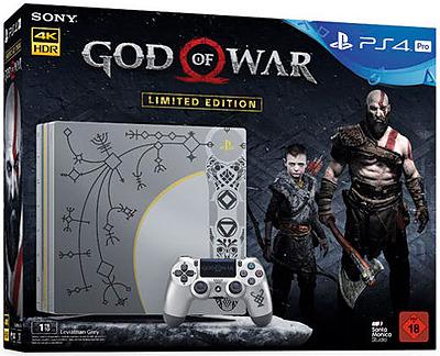 Einfach und sicher online bestellen: PlayStation 4 1TB PRO Limited + God of War in Österreich kaufen.