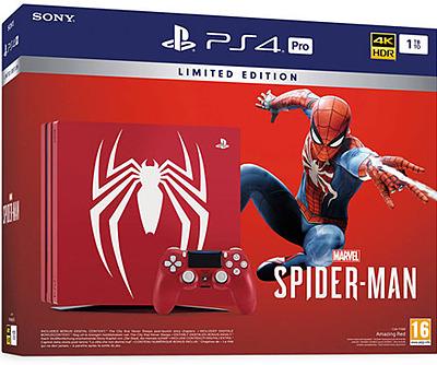 Einfach und sicher online bestellen: PlayStation 4 Pro 1TB Spiderman Limited Edition in Österreich kaufen.