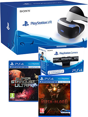 Einfach und sicher online bestellen: PlayStation VR + Kamera + VR Worlds V2 in Österreich kaufen.
