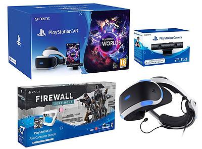 Einfach und sicher online bestellen: PlayStation VR + Kamera + VR Worlds + Zero Hour in Österreich kaufen.