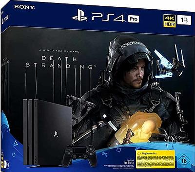 Einfach und sicher online bestellen: PlayStation 4 Pro 1TB + Death Stranding in Österreich kaufen.