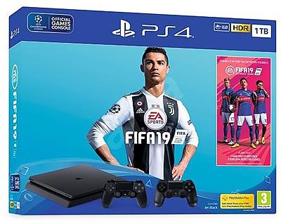 Einfach und sicher online bestellen: PlayStation 4 Pro 1TB + Fifa 19 in Österreich kaufen.