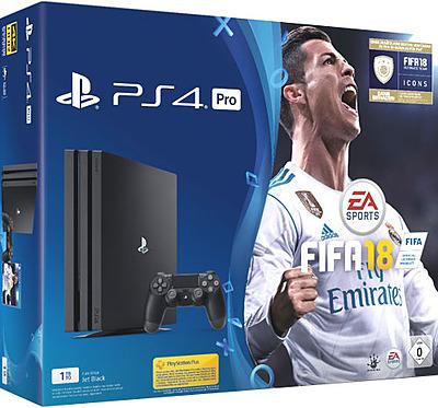 Einfach und sicher online bestellen: PlayStation 4 Pro 1TB + Fifa 18 in Österreich kaufen.