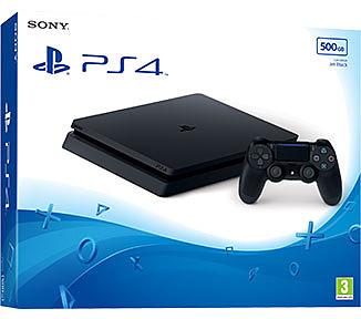 Einfach und sicher online bestellen: PlayStation 4 (Slim) 500GB Jet Black in Österreich kaufen.
