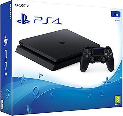 Einfach und sicher online bestellen: PlayStation 4 (Slim) 1TB Jet Black in Österreich kaufen.