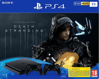 Einfach und sicher online bestellen: PlayStation 4 1TB + Death Stranding + 2.Controller in Österreich kaufen.