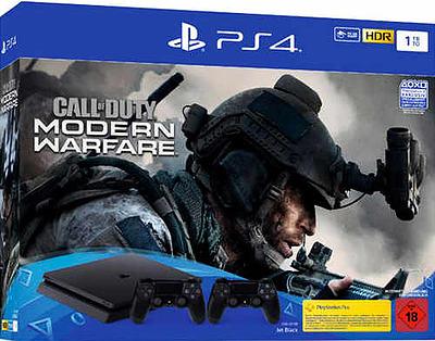 Einfach und sicher online bestellen: PlayStation 4 (Slim) + Call of Duty MW + 2DS4 in Österreich kaufen.