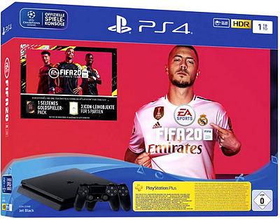 Einfach und sicher online bestellen: PlayStation 4 (Slim) 1TB + Fifa 20 + 2 Dualshock in Österreich kaufen.