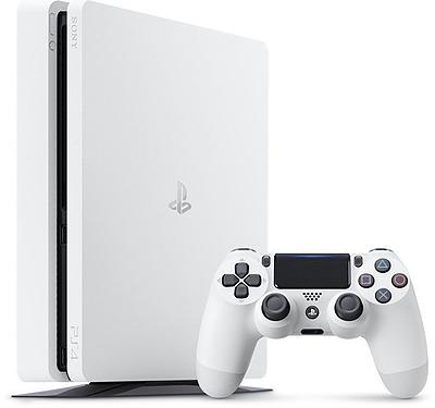 Einfach und sicher online bestellen: PlayStation 4 (Slim) 500GB Weiss in Österreich kaufen.
