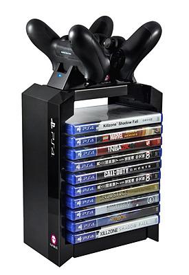 Einfach und sicher online bestellen: PlayStation 4 Premium Storage Tower + Dual Charger in Österreich kaufen.
