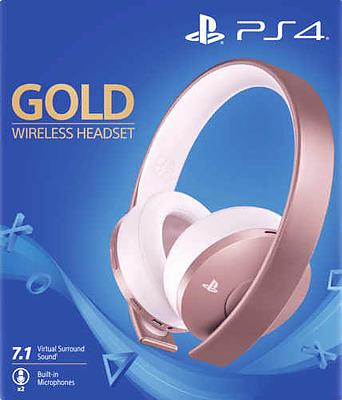 Einfach und sicher online bestellen: PlayStation Wireless Stereo Headset Rose Gold in Österreich kaufen.