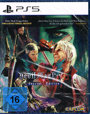 Einfach und sicher online bestellen: Devil May Cry 5 Special Edition (AT-PEGI) in Österreich kaufen.