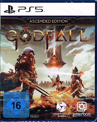 Einfach und sicher online bestellen: Godfall Ascended Edition (AT-PEGI) in Österreich kaufen.