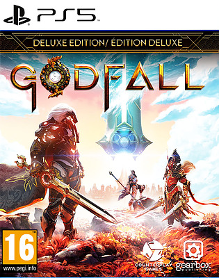 Einfach und sicher online bestellen: Godfall Deluxe Edition (AT-PEGI) in Österreich kaufen.