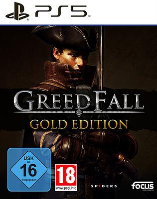 Einfach und sicher online bestellen: GreedFall Gold Edition + 9 Boni in Österreich kaufen.