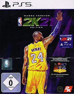 Einfach und sicher online bestellen: NBA 2K21 Mamba Edition in Österreich kaufen.