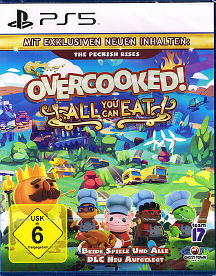 Einfach und sicher online bestellen: Overcooked - All you can Eat Edition in Österreich kaufen.