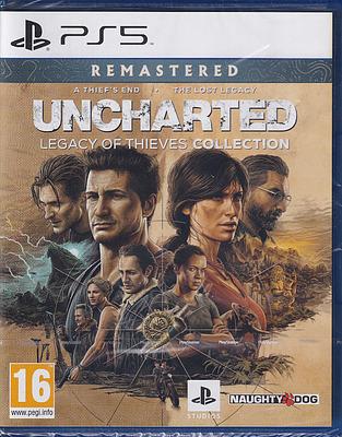 Einfach und sicher online bestellen: Uncharted: Legacy of Thieves Collection (AT-PEGI) in Österreich kaufen.