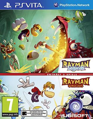 Einfach und sicher online bestellen: Rayman Legends & Rayman Origins (AT-PEGI) in Österreich kaufen.
