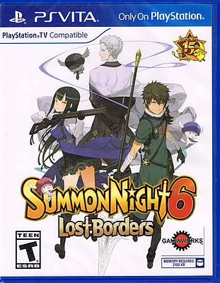 Einfach und sicher online bestellen: Summon Night 6: Lost Borders (US-Import) in Österreich kaufen.