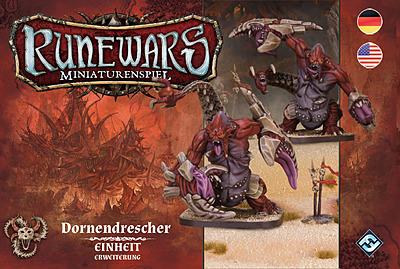 Einfach und sicher online bestellen: Runewars Miniaturenspiel: Dornendrescher in Österreich kaufen.