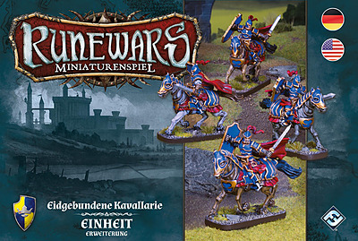 Einfach und sicher online bestellen: Runewars: Eidgebundene Kavallerie Erweiterung in Österreich kaufen.