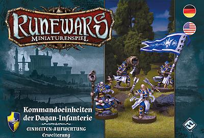 Einfach und sicher online bestellen: Runewars: Kommandoeinheiten der Daqan-Infanterie in Österreich kaufen.