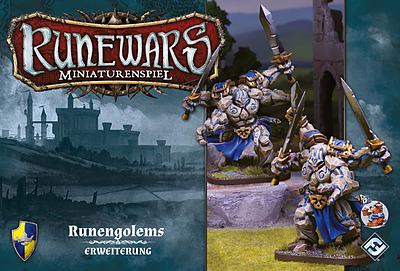 Einfach und sicher online bestellen: Runewars Miniaturenspiel: Runengolem Erweiterung in Österreich kaufen.