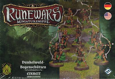 Einfach und sicher online bestellen: Runewars Miniaturenspiel: Dunkelwald Bogenschützen in Österreich kaufen.