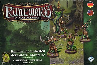 Einfach und sicher online bestellen: Runewars Miniaturenspiel: Latari Infanterie in Österreich kaufen.