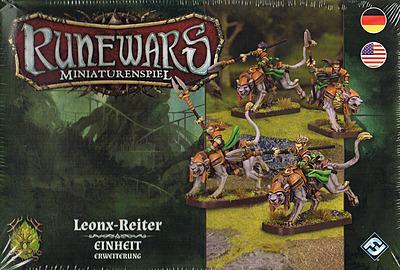 Einfach und sicher online bestellen: Runewars Miniaturenspiel: Lenox-Reiter in Österreich kaufen.