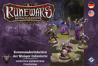 Einfach und sicher online bestellen: Runewars: Kommandoeinheiten der Waiqar-Infanterie in Österreich kaufen.