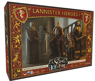Einfach und sicher online bestellen: A Song of Ice & Fire: Lannister Heroes 1 in Österreich kaufen.