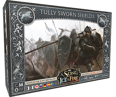 Einfach und sicher online bestellen: A Song of Ice & Fire: Tully Sworn Shields in Österreich kaufen.