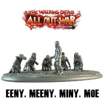 Einfach und sicher online bestellen: The Walking Dead: Eeny, Meeny, Miny, Moe Diorama in Österreich kaufen.