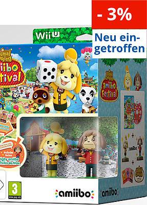 Einfach und sicher online bestellen: Animal Crossing: Amiibo Festival + 2 Amiibos in Österreich kaufen.