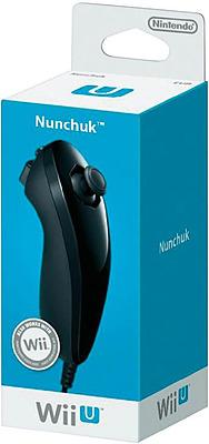 Einfach und sicher online bestellen: Wii U Controller Nunchuck schwarz in Österreich kaufen.